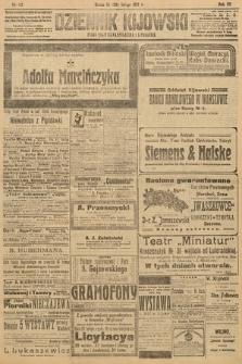 Dziennik Kijowski : pismo polityczne, społeczne i literackie. 1912, nr43