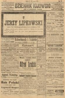 Dziennik Kijowski : pismo polityczne, społeczne i literackie. 1912, nr67