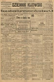 Dziennik Kijowski : pismo polityczne, społeczne i literackie. 1912, nr76
