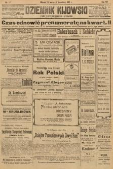 Dziennik Kijowski : pismo polityczne, społeczne i literackie. 1912, nr77