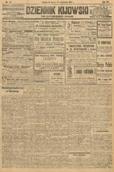 Dziennik Kijowski : pismo polityczne, społeczne i literackie. 1912, nr85