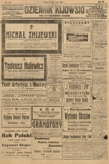 Dziennik Kijowski : pismo polityczne, społeczne i literackie. 1912, nr126