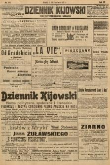 Dziennik Kijowski : pismo polityczne, społeczne i literackie. 1912, nr142
