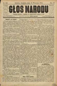 Głos Narodu. 1894, nr216