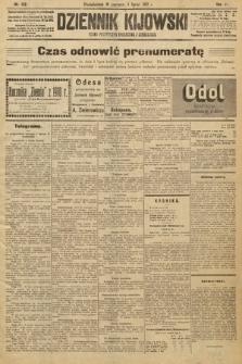 Dziennik Kijowski : pismo polityczne, społeczne i literackie. 1912, nr158