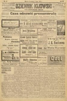 Dziennik Kijowski : pismo polityczne, społeczne i literackie. 1912, nr166