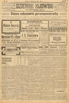 Dziennik Kijowski : pismo polityczne, społeczne i literackie. 1912, nr167