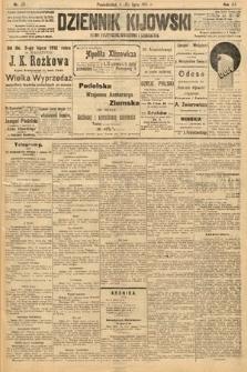 Dziennik Kijowski : pismo polityczne, społeczne i literackie. 1912, nr171