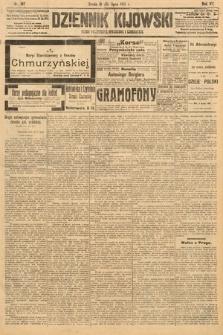 Dziennik Kijowski : pismo polityczne, społeczne i literackie. 1912, nr187