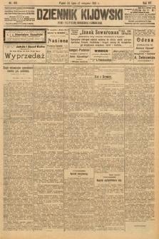 Dziennik Kijowski : pismo polityczne, społeczne i literackie. 1912, nr189