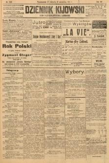 Dziennik Kijowski : pismo polityczne, społeczne i literackie. 1912, nr226