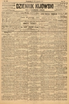 Dziennik Kijowski : pismo polityczne, społeczne i literackie. 1912, nr239