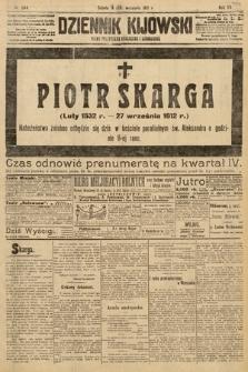 Dziennik Kijowski : pismo polityczne, społeczne i literackie. 1912, nr244