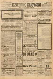 Dziennik Kijowski : pismo polityczne, społeczne i literackie. 1912, nr284