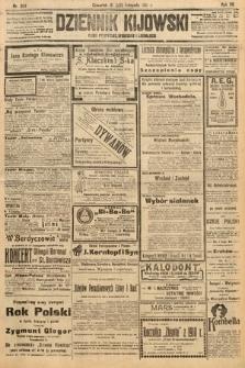 Dziennik Kijowski : pismo polityczne, społeczne i literackie. 1912, nr304
