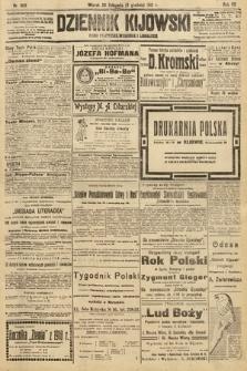 Dziennik Kijowski : pismo polityczne, społeczne i literackie. 1912, nr309