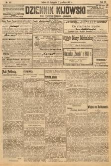 Dziennik Kijowski : pismo polityczne, społeczne i literackie. 1912, nr313