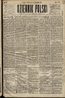 Dziennik Polski. 1893, nr313