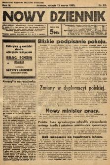 Nowy Dziennik. 1921, nr66