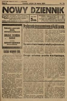 Nowy Dziennik. 1921, nr79