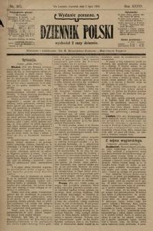 Dziennik Polski (wydanie poranne). 1903, nr303