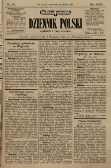 Dziennik Polski (wydanie poranne). 1903, nr371