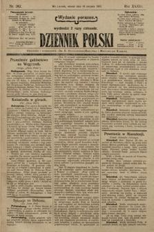 Dziennik Polski (wydanie poranne). 1903, nr382