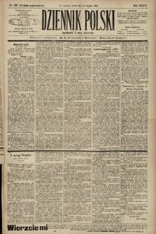 Dziennik Polski (wydanie popołudniowe). 1903, nr389