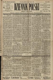 Dziennik Polski (wydanie popołudniowe). 1903, nr391