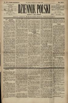 Dziennik Polski (wydanie popołudniowe). 1903, nr393