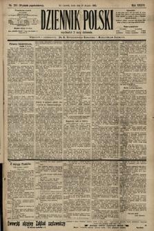 Dziennik Polski (wydanie popołudniowe). 1903, nr395