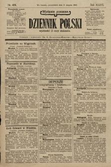 Dziennik Polski (wydanie poranne). 1903, nr404