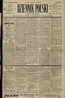 Dziennik Polski (wydanie popołudniowe). 1903, nr405
