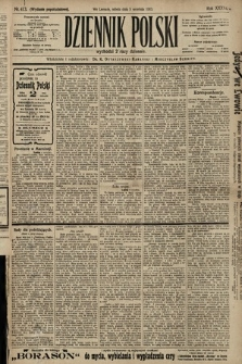 Dziennik Polski (wydanie popołudniowe). 1903, nr413
