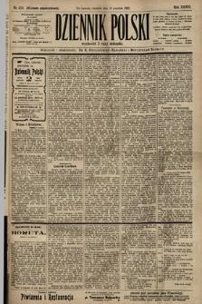Dziennik Polski (wydanie popołudniowe). 1903, nr420