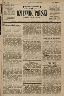 Dziennik Polski (wydanie poranne). 1903, nr423