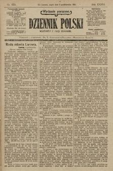 Dziennik Polski (wydanie poranne). 1903, nr470