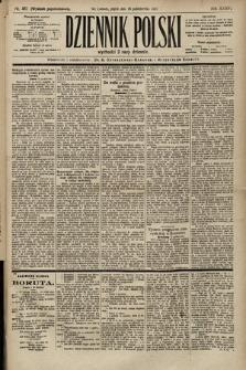 Dziennik Polski (wydanie popołudniowe). 1903, nr481