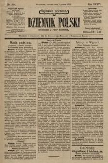 Dziennik Polski (wydanie poranne). 1903, nr564