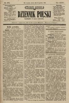 Dziennik Polski (wydanie poranne). 1903, nr579