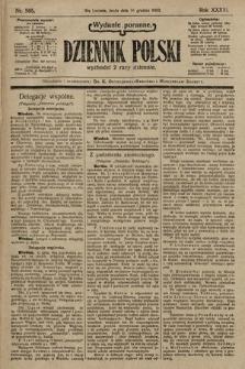 Dziennik Polski (wydanie poranne). 1903, nr585