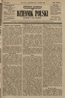 Dziennik Polski (wydanie poranne). 1903, nr427
