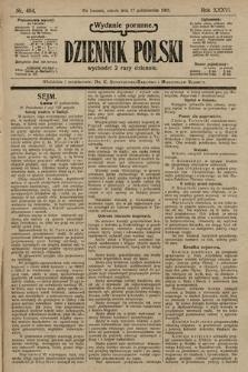 Dziennik Polski (wydanie poranne). 1903, nr484