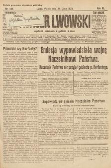 Kurjer Lwowski. 1922, nr162