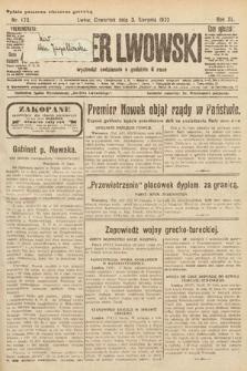 Kurjer Lwowski. 1922, nr173