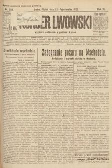 Kurjer Lwowski. 1922, nr234