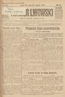 Kurjer Lwowski. 1922, nr270