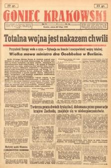 Goniec Krakowski. 1943, nr42