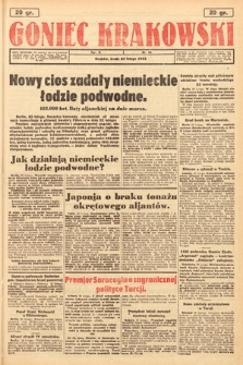 Goniec Krakowski. 1943, nr45