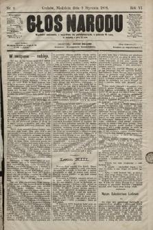 Głos Narodu. 1898, nr6